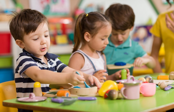 What will your little ones learn in a nursery school?